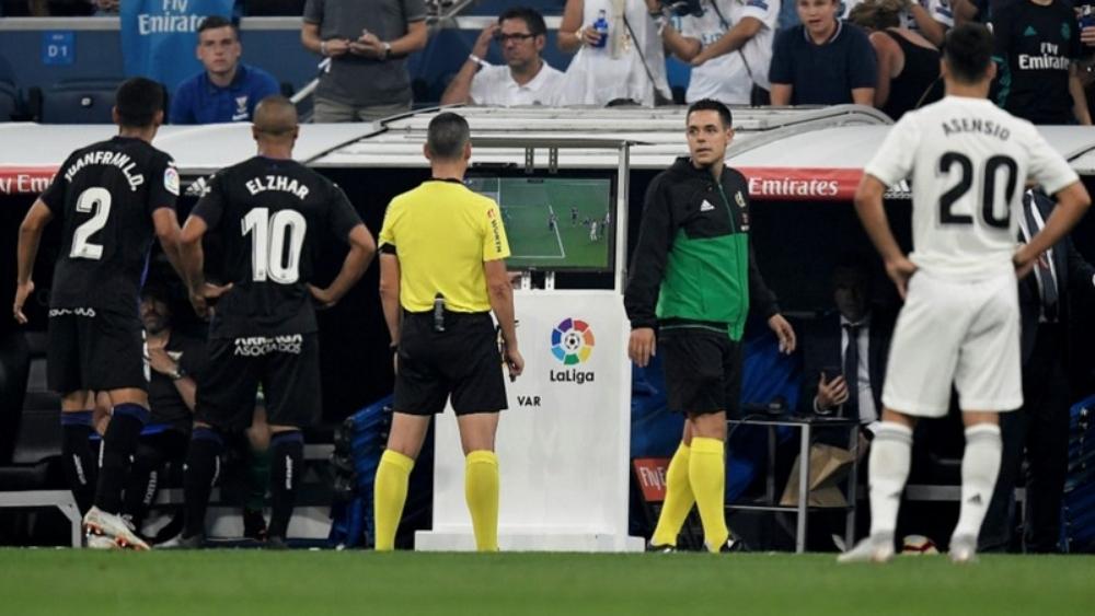 من مباراة ريال مدريد وليغانيس في الليجا