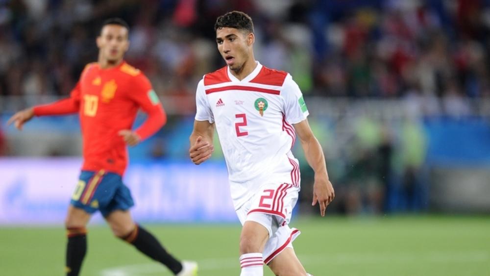اللاعب المغربي أشرف حكيمي
