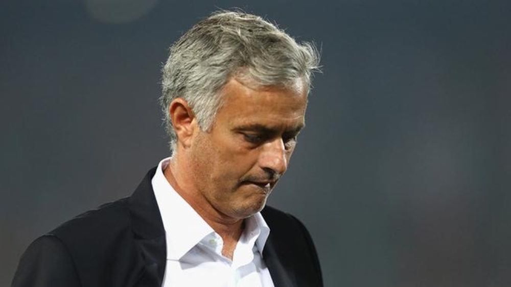 مدرب مانشستر يونايتد جوزيه مورينيو