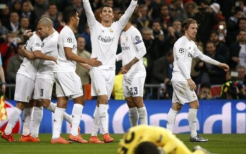 ريال مدريد يتجاوز روما ويصل لدور الثمانية