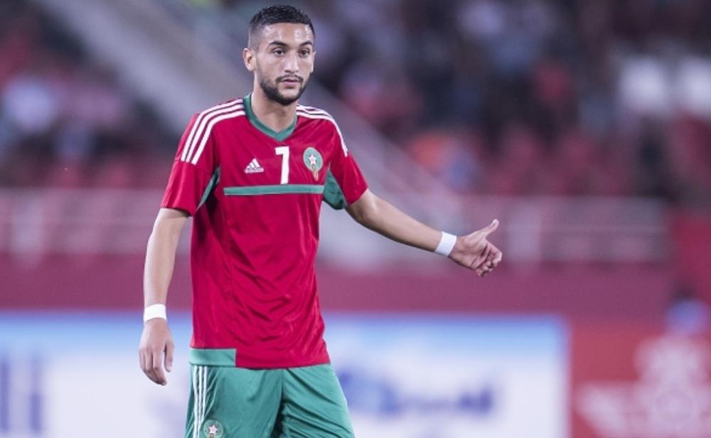 نتيجة بحث الصور عن المغربى حكيم زياش