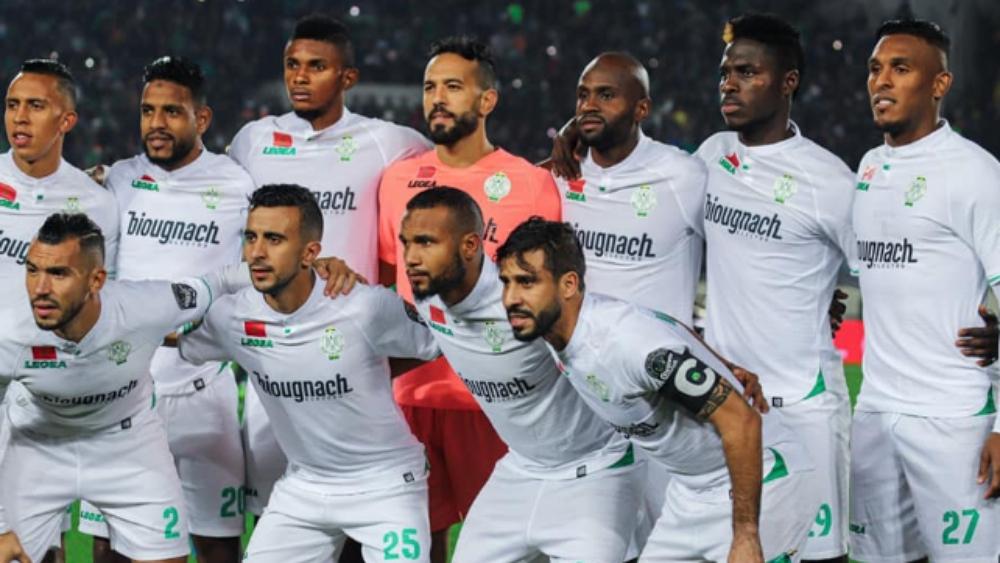 اللائحة الرسمية  للرجاء الرياضي في مباراة مولودية الجزائر