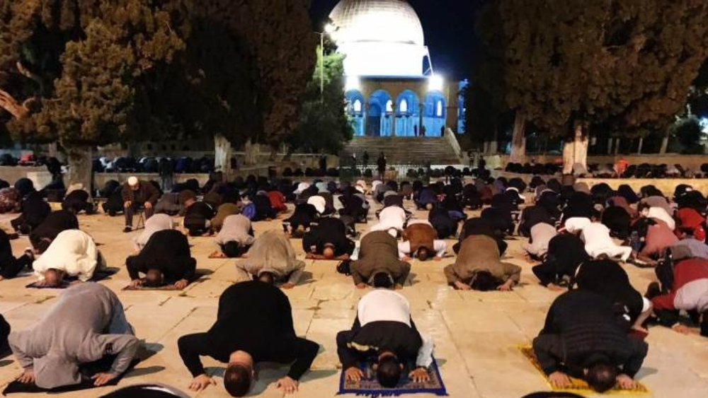 المسجد الأقصى يعاود فتح أبوابه بعد إغلاقه لأكثر من شهرين بسبب فيروس كورونا